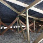 Zateplení stropu bungalovu Chytrou izolací Icynene