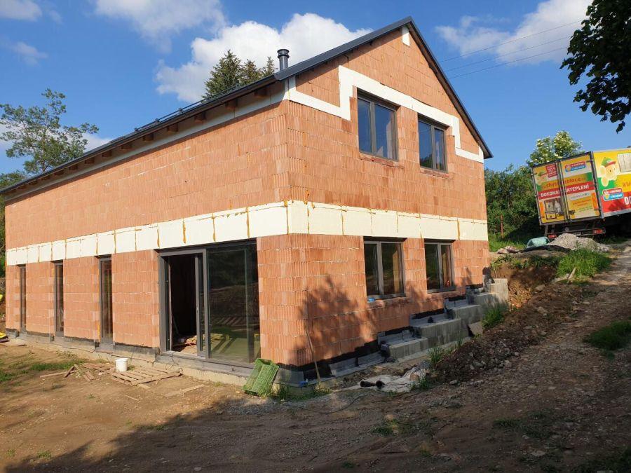 Zateplení rodinného domu v Zadní Třebani