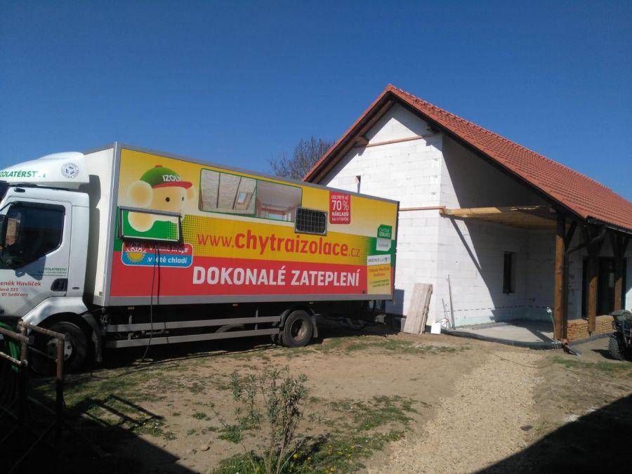 Zateplení rodinného domu v Hradišti