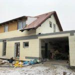 zateplení nízkoenergetického domu v Libochovičkách (okr. Kladno)