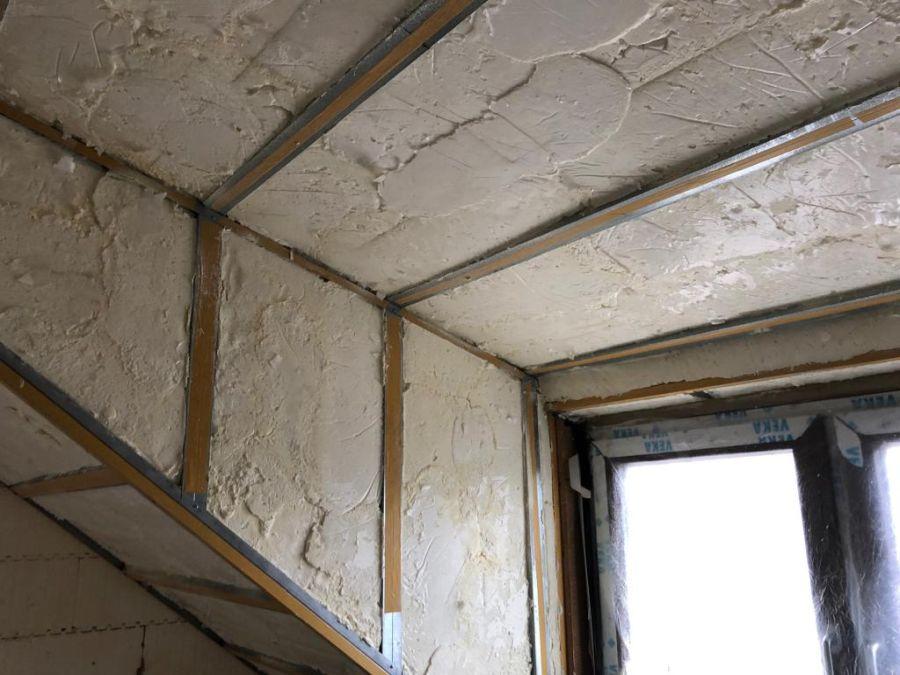 izolace domu icynene, detaily