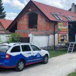 Realizace zateplení izolací Icynene v obci Hvozdno