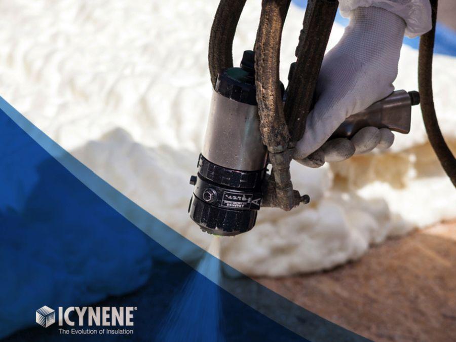 Jak funguje difuzně otevřená izolace ICYNENE?