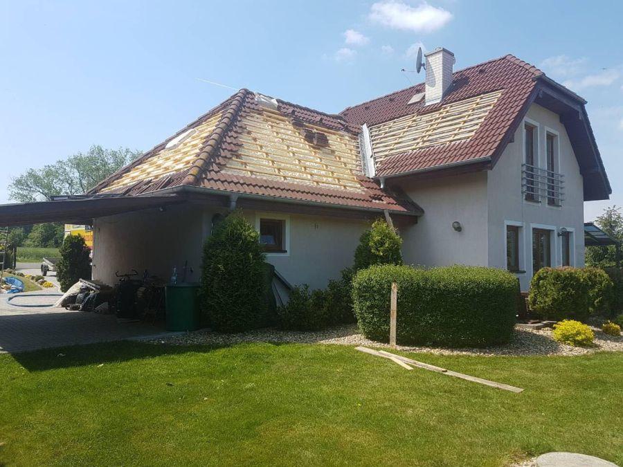 Rekonstrukce střechy, zateplení Icynene, chytrá volba izolace.