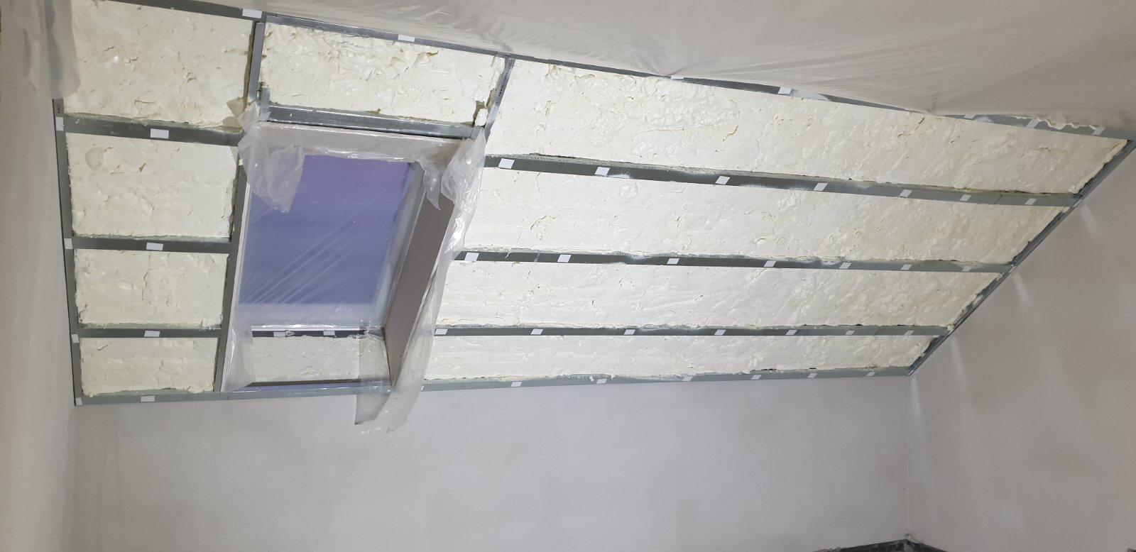 Zateplení podkroví a stropu Obytce