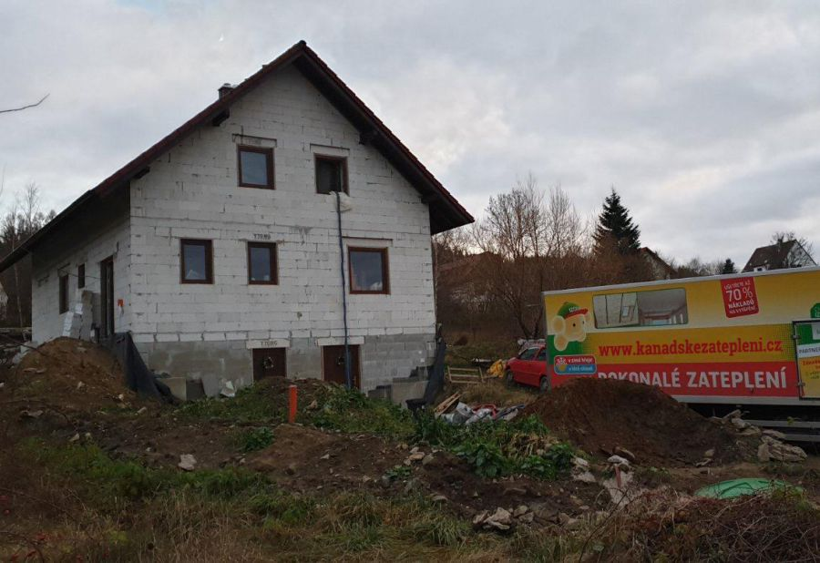Zateplení podkroví a stropu v obci Obytce