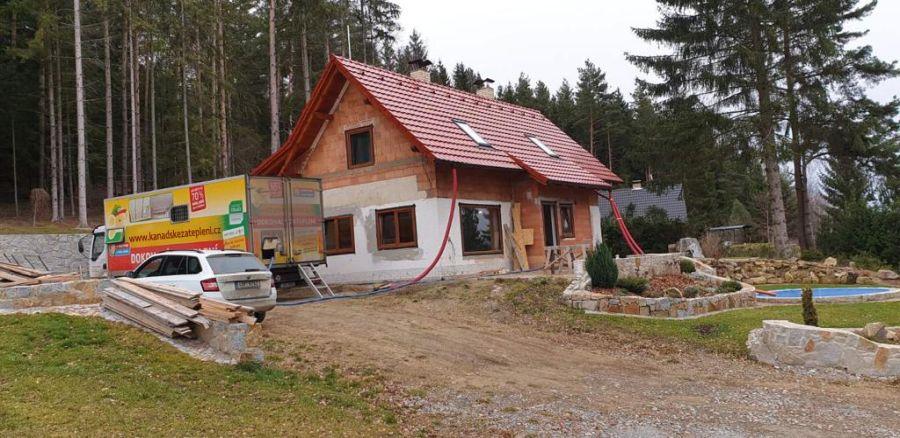 Zateplení podkroví Radí Horažďovice