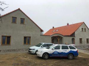 Realizace v obci Vlastec, Písek,