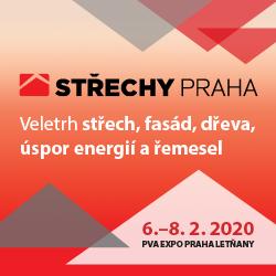 Výstava Střechy Praha 2020