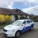 Zateplení podkroví v obci Holostřevy u Boru