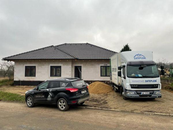 Zateplení bungalovu v Miroslavských Knínicích