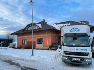 Zateplení podkroví v obci Chotěboř